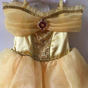 Disney Parks Belle costume dress stunner!  NWT 4T